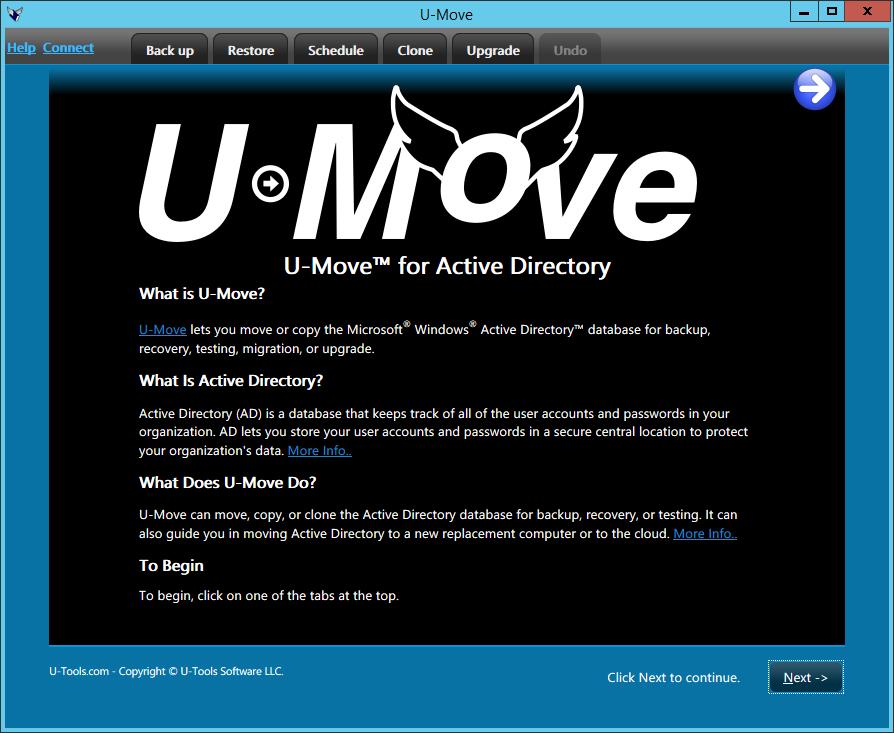 U-Move Welcome